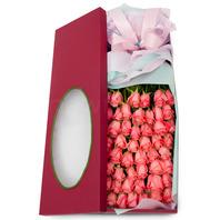 분홍장미50송이박스